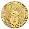 The Queen's Beasts 1/4 oz. Gold Bullion 2020 The White Lion
