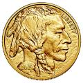 Uncirculated Gold Buffalo Coin One Ounce 2021