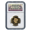Certified Proof Gold First Spouse 2010-W Buchanans Liberty PF70 NGC