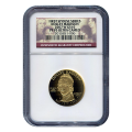 Certified Proof Gold First Spouse 2007-W Dolley Madison PF70 NGC
