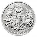 2020 Great Britain 1 oz Silver The Royal Arms (BU)