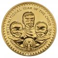 Lesotho 250 Maloti Gold 1979 Year of the Child BU