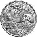 Elemetal Mint 2 oz High Relief Silver Round - Davy Jones Locker