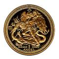Isle Of Man One Ounce Gold Angel (dates our choice)