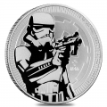 2018 1 oz Niue Stormtrooper Star Wars Silver Coin