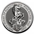 2020 2 oz British Silver Queen's Beast The White Horse of Hanover (BU)