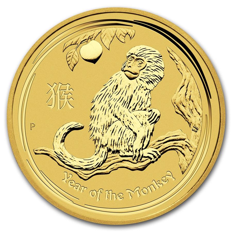 Australian Lunar Series 2 Gold One Ounce Golden Eagle Coins