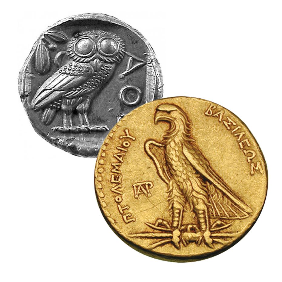 Greek coins. Attica, Athens. Didrachm ca 475-465, AR 8.60g.