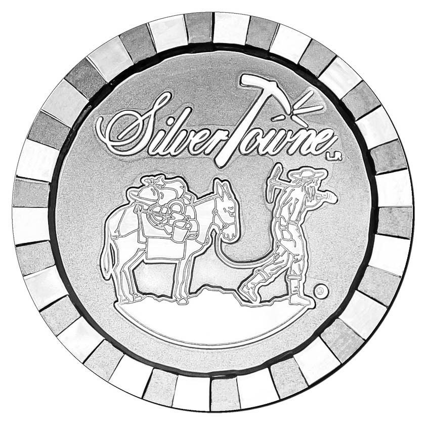 Silver casino chip devol casino