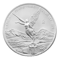 2008 1 oz Mexican Silver Libertad