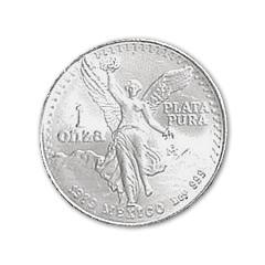 1983 SILVER MEXICAN LIBERTAD 1 OZ .999 SILVER COIN