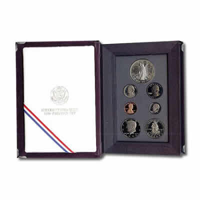 Prestige US Proof Set 1989