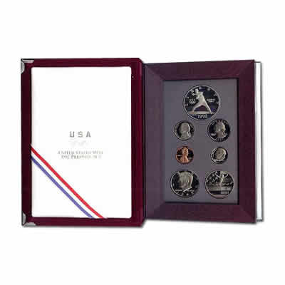 Prestige US Proof Set 1992