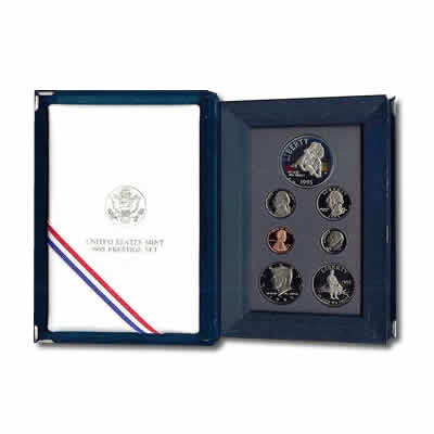 Prestige US Proof Set 1995