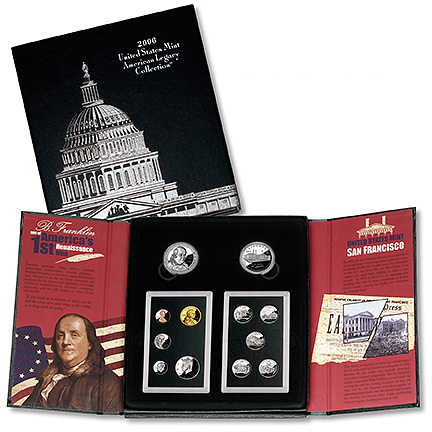 American Legacy Collection Set 2006 Golden Eagle Coins