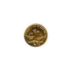 Singapore Gold 20th Ounce 1992 Monkey