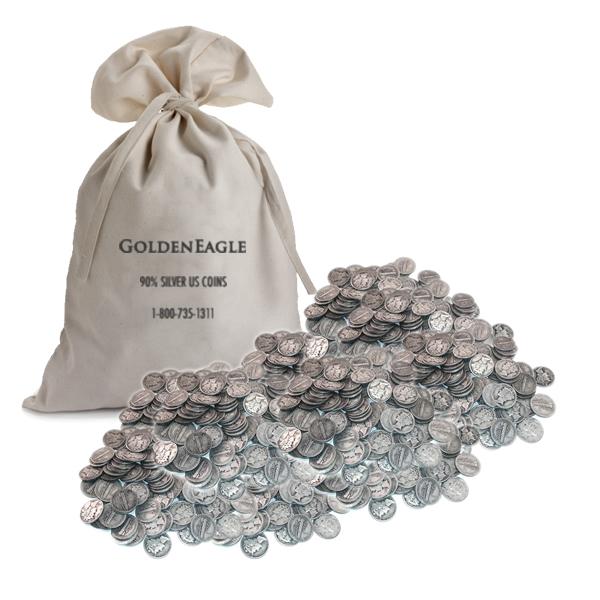 1919 Mercury Dime 90/% Silver Good GD