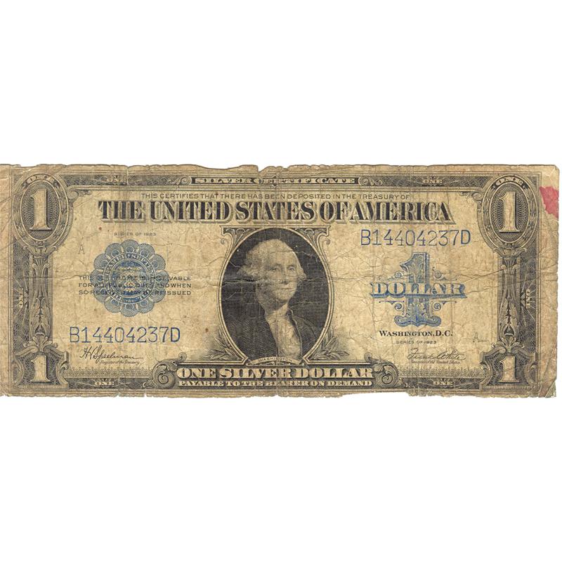 1923 $1 large size silver certificate PR-AG   Golden Eagle Coins