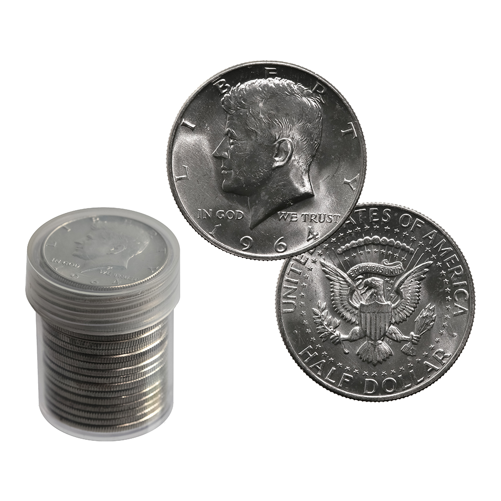 1964 Nickel Five Cents ***** Brilliant /& Uncirculated From Roll