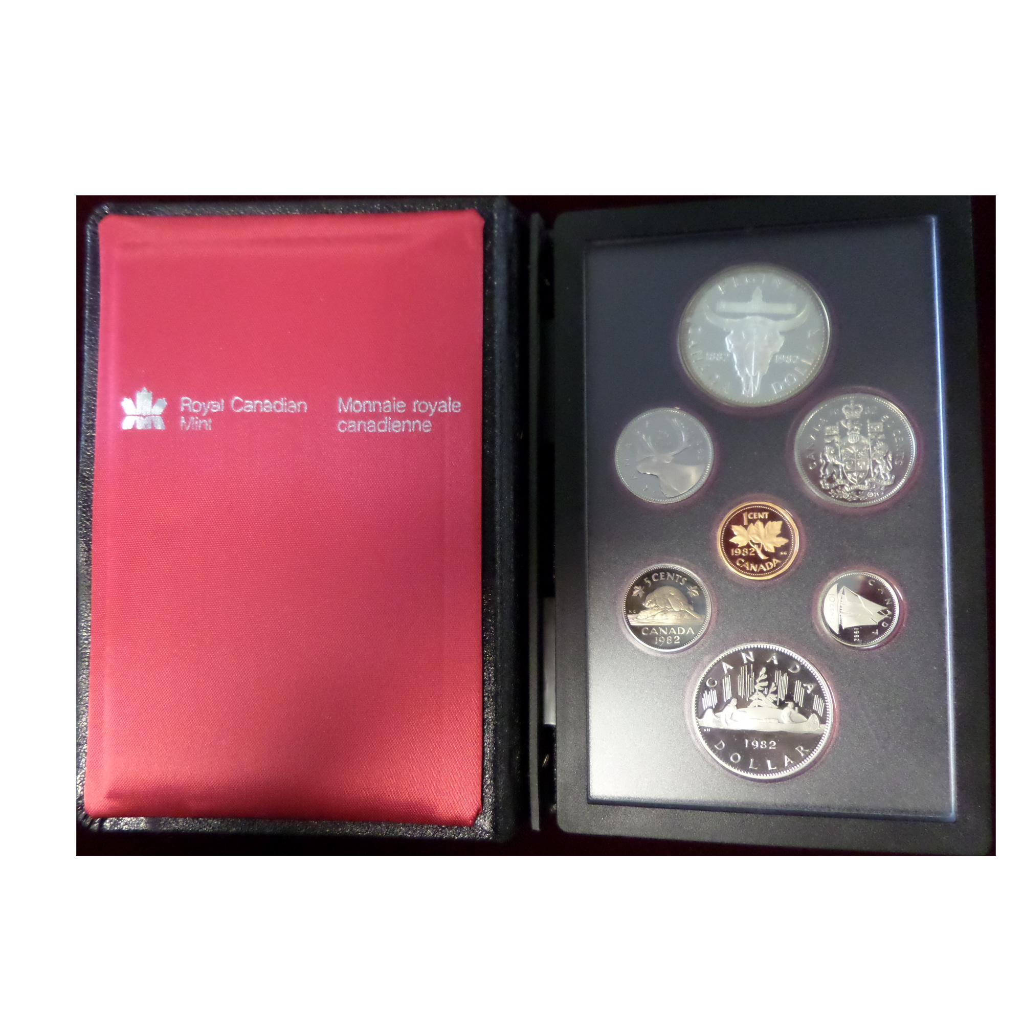 Canada 1982 Proof Set Regina Golden Eagle Coins