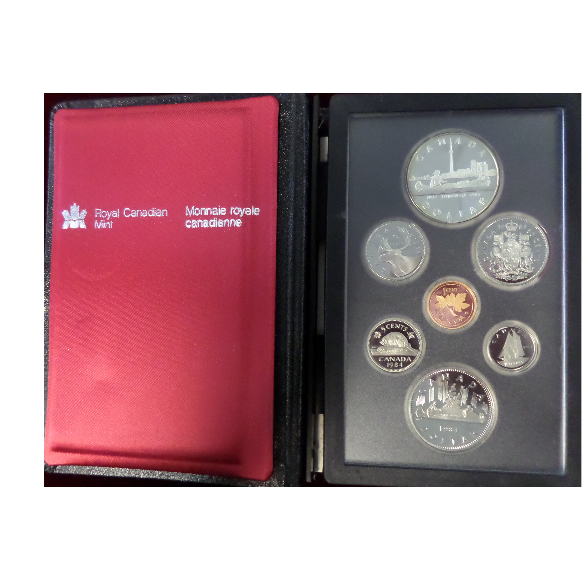 Canada 1984 Proof Set Toronto Golden Eagle Coins