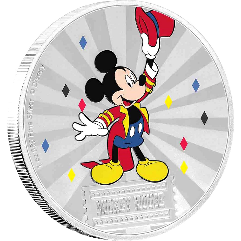 2019 Niue Mickey Mouse Amp Friends Carnival Mickey Mouse