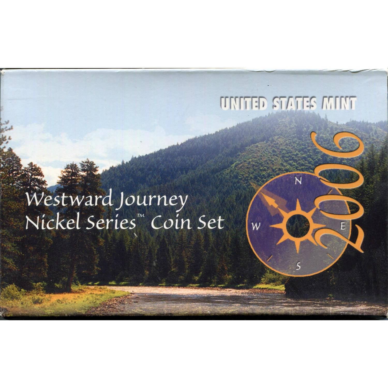 Westward Journey Nickel Series Coin Set 2006