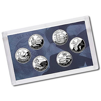 US Proof Set Statehood Quarters Without Box 2009