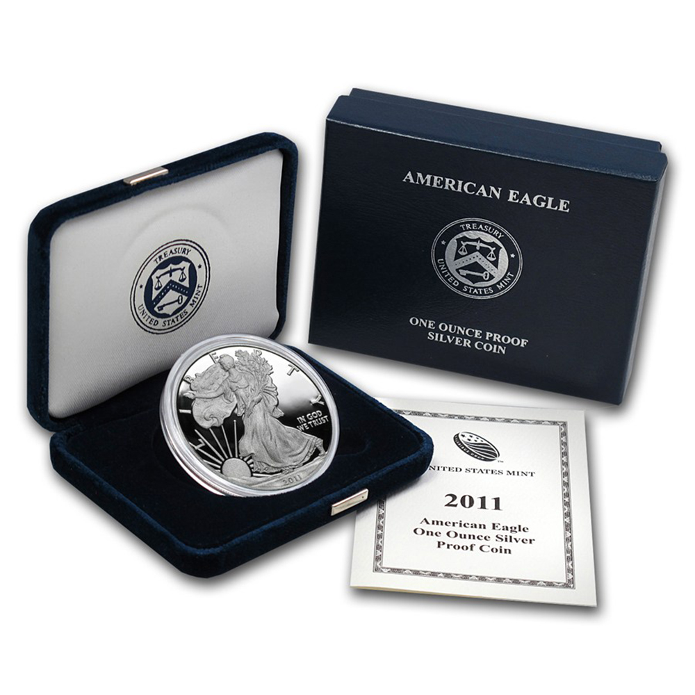 us silver eagle proof coins