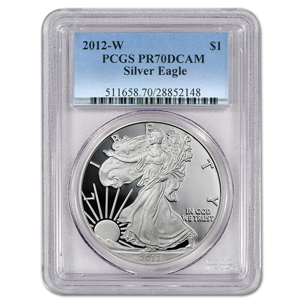 Certified Proof Silver Eagle 2006-W PR70DCAM PCGS