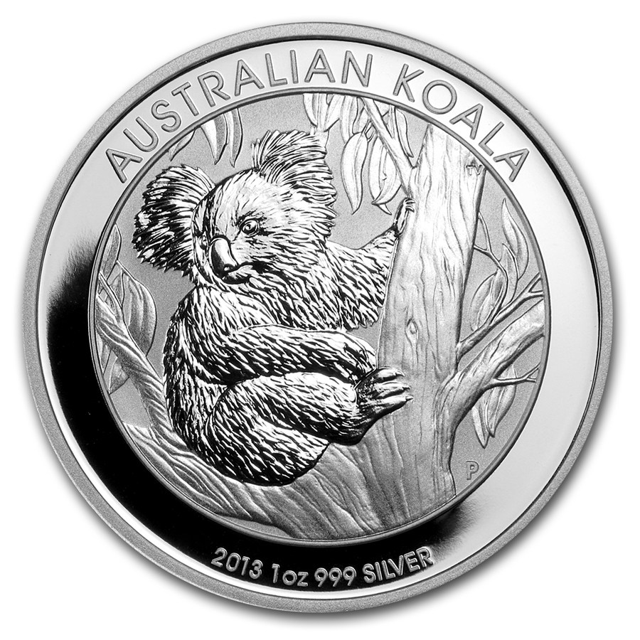2013 AUSTRALIAN KOOKABURRA DESIGN 1 OZ .999/% SILVER BULLION COLLECTOR COIN GIFT
