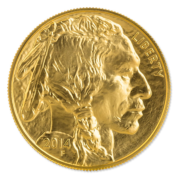 2014 Gold Buffalo Coins Golden Eagle Coins