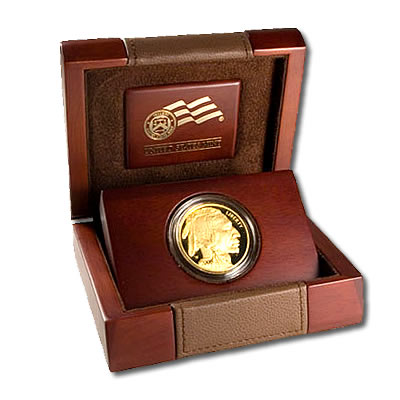 Proof Buffalo Gold Coin One Ounce 2014 W Golden Eagle Coins