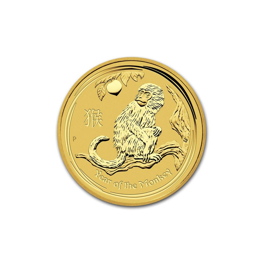 Gold Australian Platinum: Australian Perth Mint Series II Lunar Gold Tenth Ounce