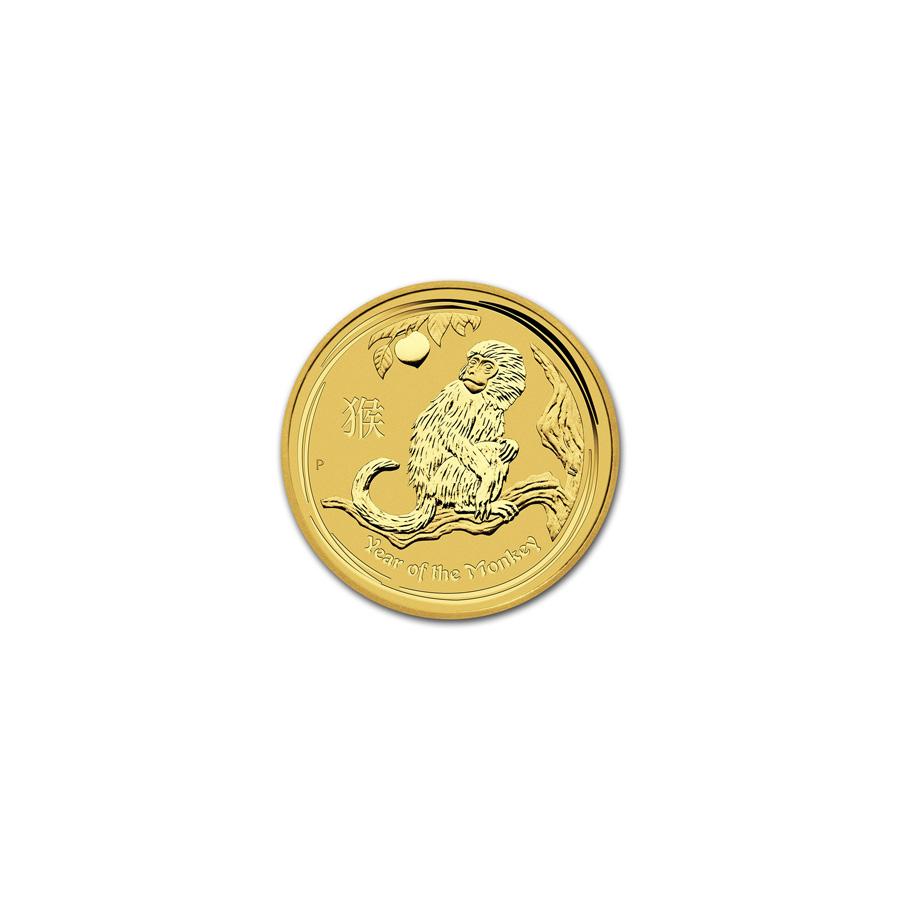 Australian Perth Mint Series Ii Lunar Gold One Twentieth