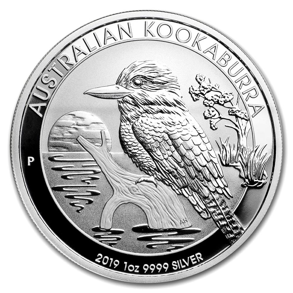 Australian Kookaburra 1 Oz Silver 2019 Golden Eagle Coins