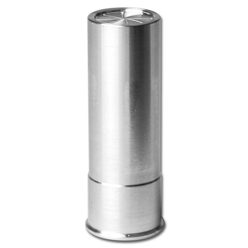 5 Oz 999 Pure Silver Bullet 12 Gauge Shotgun Shell