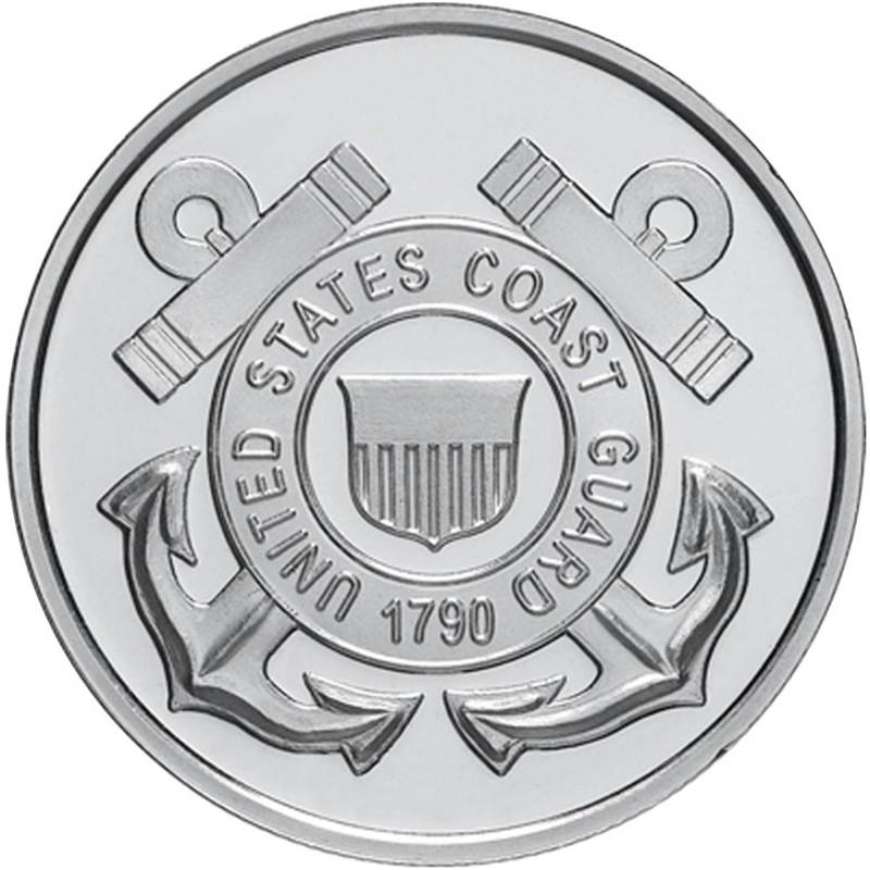 Us Coast Guard 999 Silver 1 Oz Round Golden Eagle Coins