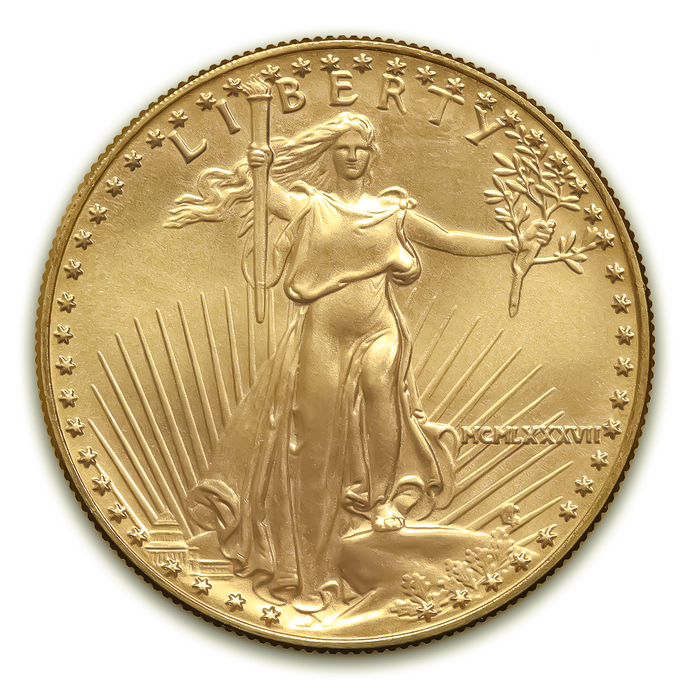 Us 1987 Gold Eagle 50 Ngc Ms70