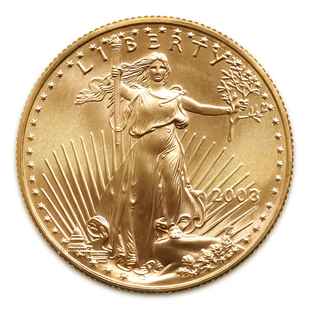 2003 American Gold Eagle 1 4 Oz Uncirculated Golden Eagle Coins