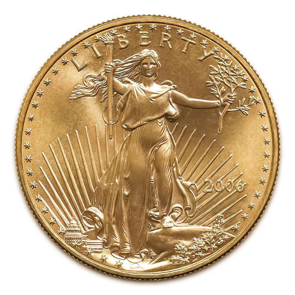 2006 American Gold Eagle 1 2 Oz Uncirculated Golden Eagle Coins
