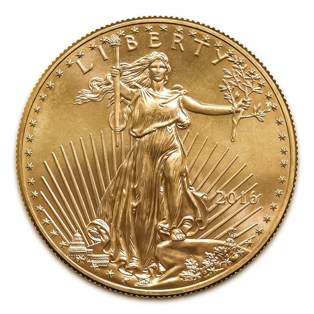 2016 American Gold Eagle 1 10 Oz Uncirculated Golden