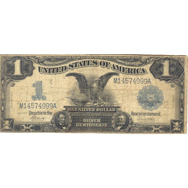 1899 $1 Silver Certificate (Black Eagle) VG | Golden Eagle Coins