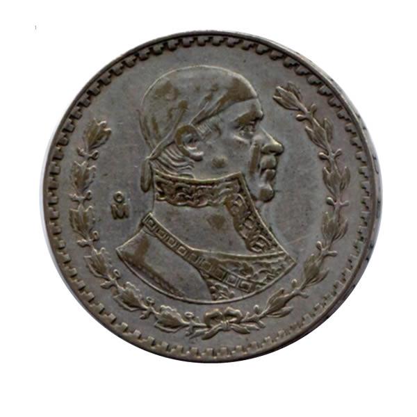 Mexico 1 Peso Silver Morales 1957 1967 Circulated Golden