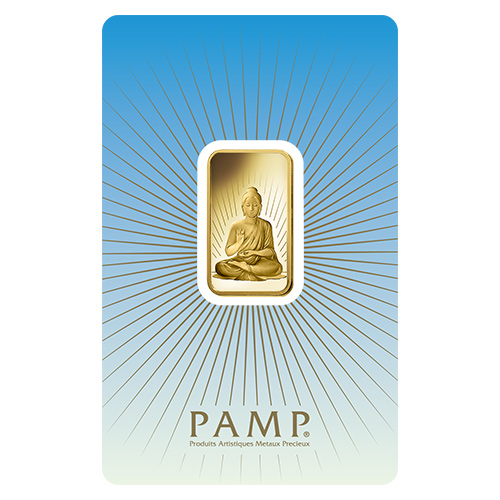 Pamp Suisse 10 Gram Gold Bar Buddha Golden Eagle Coins